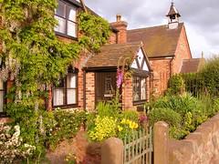 Photo of Burlton: spring cottage garden