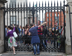 Gate: Marriage Referendum: In The Upper Yard, Dublin Castle (Skyroad) Tags: