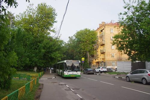 Moscow bus LiAZ-5292 02594