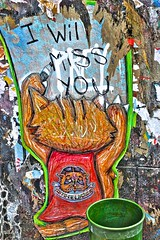 I Will Miss You (TXA Photography) Tags: nyc newyorkcity ny newyork les architecture graffiti mural manhattan lowereastside
