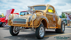 1941 Willys Gasser (Mark O'Grady - Proudly Serving Millions of Viewers) Tags: willys willysoverland gasser goodguys goodguysppgnationals carshow outdoor vehicle custompaint sweetride mospeedimages 2016 hotrod