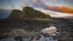 Minnamurra Headland (mattferg78) Tags: sunrise mountains ocean beach australia sydney newsouthwales nsw surf rocks rockpool color sky clouds seascape landscape bluehour
