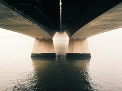 Lost in Fog, Brisbane (stephenk1977) Tags: bridge mist fog foggy australia brisbane qld queensland g2 captaincook preset vsco iphone6