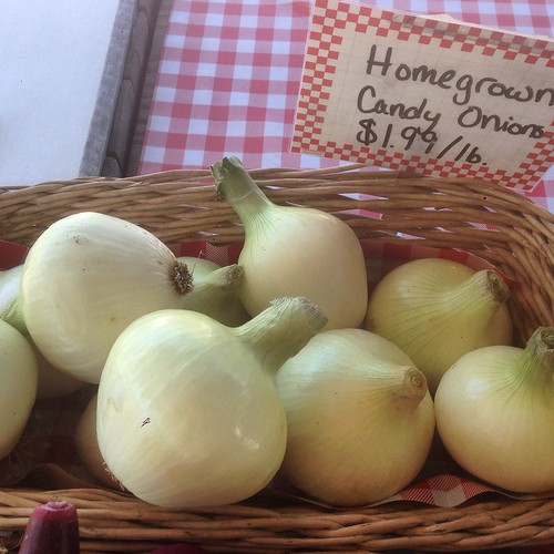 Homegrown Candy Onions