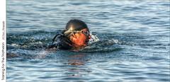 Training For The Triathelon (jwvraets) Tags: swimmer training triathelon lakeontario grimsby nellesbeach niagara hdr tonemapped opensource luminance rawtherapee gimp nikon d7100 nikkor70300mmvr