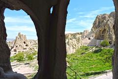 Kapadokya (Cappadocia) 10 (talipcetin) Tags: kapadokya cappadocia landscape cave nevehir greme ak hava mzesi openair museum historical travel gezi kamp volkanik turkey trkiye turquie turkish trkei kaya maara mezar rock tombs