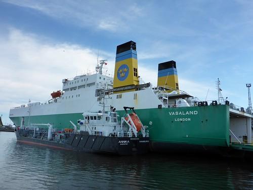 Hafenrundfahrt Rostock - Warnemünde