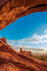The window (Gregory Lebreton | Photography) Tags: sunset usa nature beautiful landscape outdoors utah arches beautyinnature