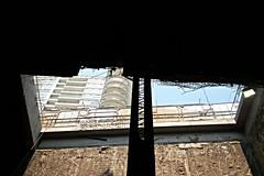 Vista al cielo (Rubn HPF) Tags: city mexico construction engineering civil construccin acuario polanco ingeniera inbursa