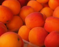 Apricots (Grazerin/Dorli B.) Tags: fruit market prague czechrepublic elements apricot orange abstract