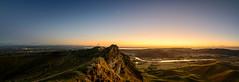 Simply The Peak (ajecaldwell11) Tags: trig sunrise ankh dawn moon light tukitukiriver hawkesbay newzealand tematapark napier tukituki sky rocks water caldwell tematapeak clouds