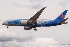 China Southern Airlines --- Boeing 787-8 Dreamliner --- B-2732 (Drinu C) Tags: adrianciliaphotography sony dsc hx100v lhr egll plane aircraft aviation chinasouthernairlines boeing 7878 dreamliner b2732 787
