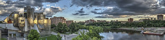 Weisman_Panorama12 (Sol Leonard) Tags: weismanartmuseum universityofminnesota minnesota minneapolis twincities panorama nikon nikond600 fullframe fx nikon1802000mmf3556 hdr photostitching photomatixpro museum river mississippiriver clouds sky wideangle fv10 instantfave