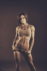 Becky (modulationmike) Tags: bodybuilder female fitness muscle tonal lighting body figure shape mono
