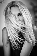 Bernice (Hans van Eijsden) Tags: blackandwhite bokeh portrait simplicity glamour beauty posing individuality monochrome individuals youngadult elinchrom model longhair fashion personality makeup bw blackwhite female girl greyscale lady oneperson woman zwolle overijssel netherlands nl