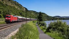 152 068 on GA 52820 to Kassel at Gambach (37001 overseas) Tags: gambach maintal karlstadt karlstadtammain db dbschenker dbcargo 152068 class152 ga 52820 ingolstadt kassel audi ga52820