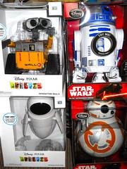 My Favorite Robots! (teekeek) Tags: robots walle starwars eve pixar t thank r2d2