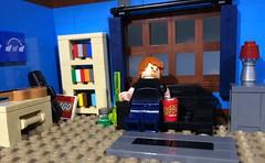 Ah... (woodrowvillage) Tags: lego minifigure legos brick woodrow village moc bong pot dope