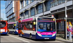 Stagecoach 37052 (Lotsapix) Tags: stagecoach midlands buses enviro enviro200 adl alexander dennis northampton 37052
