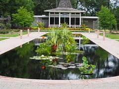 RBG Tea House (JP Newell) Tags: rbgroyalbotanicalgardens burlington ontario waterlily waterlilies lilies water garden pond tea house royal botanical pool