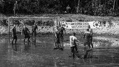 swampions 2016 (usz) Tags: soccer ball football swamp messy muddy pika botna czeremcha podlasie polska poland sport action men bw dirty fun