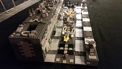 Death Star Trench Run (Ken_1974) Tags: lego starwars deathstar trenchrun tiefighter xwing red5