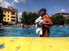 Pool life (DanieleS.) Tags: strada fotografia man old people pool photography street milano