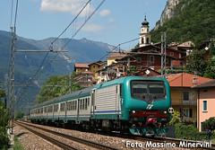 E464.052 TI (Massimo Minervini) Tags: e464 ti trenitalia e464052 regionale brennerbahn brenneroverona serravallealladige trentino rail treno viaggiatori fs canon400d lineadelbrennero lineabrenneroverona