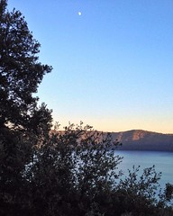 Lake (leonardopenge) Tags: colors sunset emotion view amazingview lame instagramapp square squareformat iphoneography