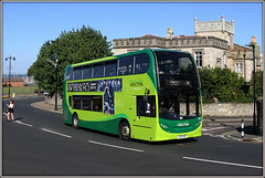 1614, Dover Street (Jason 87030) Tags: horrible nasty green newport ryde castle doverstreet 1614 new 400 enviro canon august holiday summer sunny girl road shot camera 50d hj16hsd dennis southernvectis iow island isleofwight 2016 greatbritain computer visiting effect exhibition portfolio site photostream presented filejpgpresentation fascination extreme visit display vista weather season unitedkingdom media amateur
