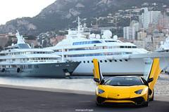 Aventador SV Roadster Shooting (MonacoFreak) Tags: lamborghini aventador sv roadster monaco montecarlo harbour cotedazur