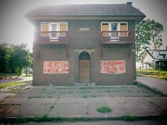 Houses Like Tombstones. (david grim) Tags: unionmilespark cleveland oh eastside streetphotography cuyahogacounty ohio