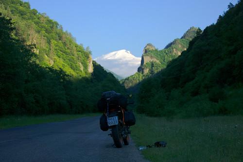 По дороге в Хузрук