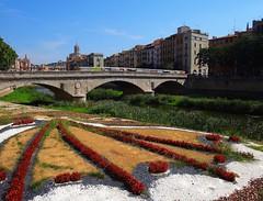Girona, Catalunya, Spain - a few city scenes (jackfre 2) Tags: spain catalunya girona city bridge