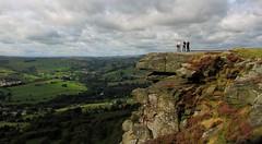100 Peak tops...No18 ...Curbar edge. (A tramp in the hills) Tags: curbaredge derbyshire