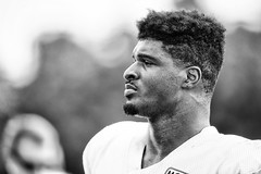 2016 Faces of Training Camp-106 (Mather-Photo) Tags: 2016 andrewmather andrewmatherphotography blackandwhite chiefs chiefskingdom chiefstrainingcamp closeup colorless faces football helmetoff kcchiefs kansascitychiefs matherphoto monochrome nfl sportsphotography summer team trainingcamp