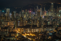 Bright lights, big city (urbanexpl0rer) Tags: skyline urban urbanskyline hongkong china asia skyscrapers offices buildings capitalcity