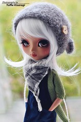 Autumn is here (Yuffie Kisaragi) Tags: rechipped rewigged impa arashi akai cuatom tanned mocha miokit mio pullip doll
