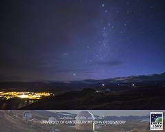 2 September 2016 (Earth & Sky NZ) Tags: astronomy astrophotography mtjohn mtjohnobservatory observatory universityofcanterburymtjohnobservatory mtjohnuniversityobservatory earthandsky newzealand nz starlightreserve darkskyreserve aorakimackenzieinternationaldarkskyreserve internationaldarkskyassociation ida mackenziebasin mackenzie aoraki stargazing tekapo laketekapo igorhoogerwerf dusk 1metrebuilding telescope dome milkyway milkywaygalaxy twopointers southerncross canopus satellite promotional instagram