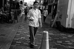 cook (LinusVanPelt ) Tags: cook london street people city soho bw gdg uk inurban londra england regnounito gb