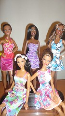 Ready for Summer (PolynesianSky) Tags: barbie basic collection city shine model 8 002 10 001 5 2 target red stardoll desiree pazette lara mbili mattel doll