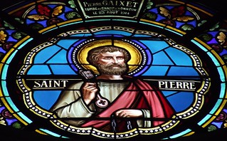 PERPIGNAN SAINT JOSEPH CHURCH STAINED GLASS WINDOW DETAILS