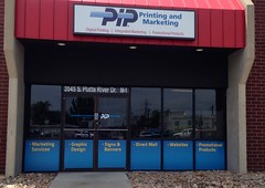 Outdoor Window Graphics (pipprinting354) Tags: signs window marketing graphics colorado outdoor denver business printing pip