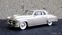 1952 Chrysler Imperial Newport Hardtop (JCarnutz) Tags: newport imperial chrysler brooklin 1952 diecast 143scale whitemetal