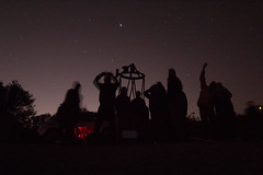 Stargazing at Monte Bello, Jan. 2015
