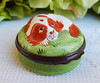 Halcyon Days Hand Painted Enamel Trinket Box ~ England ~ Dog ~ Puppy (Donna's Collectables) Tags: england dog puppy handpainted enamel halcyondays