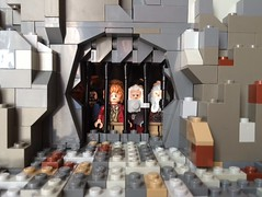 The Hobbit - Wood Elf Jail (in LEGO) (Bricks Brought to Life) Tags: brick film lego jail animation lordoftherings hobbit stopmotion