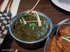 Lamb Saag (VanFoodies) Tags: indian delta curry naan pakora bhatura lambsaag bainganbartha tastyindianbistro chickenmuglai