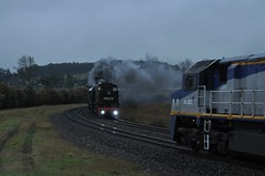 Moving cross! (highplains68) Tags: railroad rail railway australia nsw newsouthwales aus