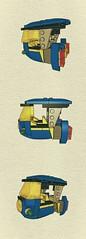 CS tuk-tuk (JPascal) Tags: classic lego space tuktuk cs